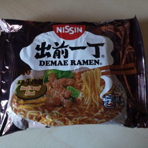 "#1806: Nissin Demae Ramen ""Beef"" (2020)"