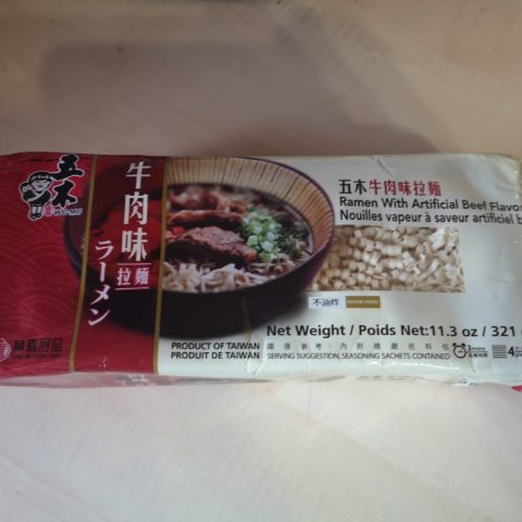 "#1816: Wu-Mu ""Ramen with Artificial Beef Flavor"""