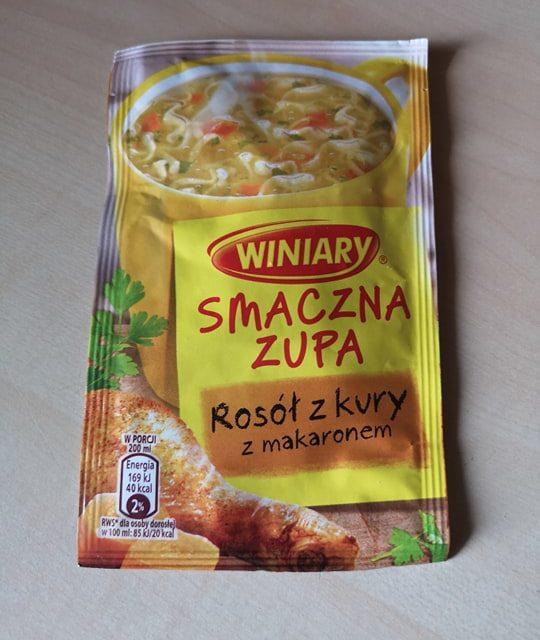 """#1827: Winiary """"Smaczna Zupa Rosół z Kury z Makaronem"""""""