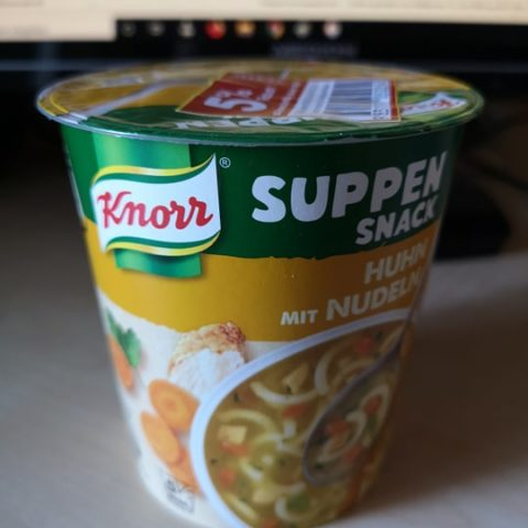 "#1824: Knorr Suppen Snack ""Huhn mit Nudeln"""