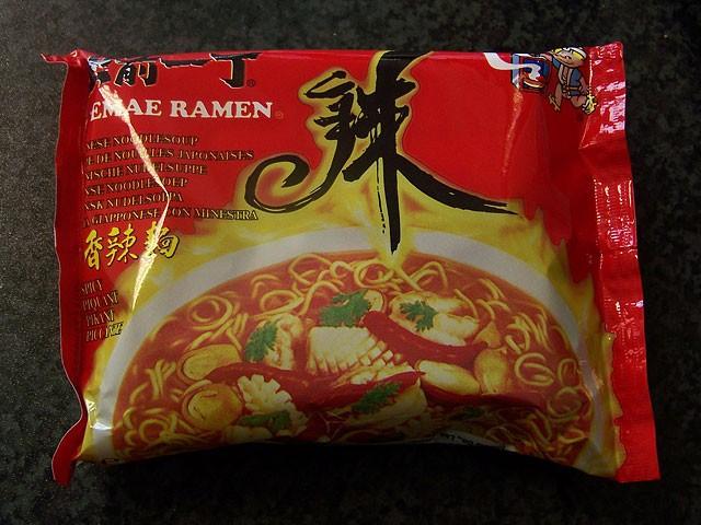"""#015: Nissin Demae Ramen """"Spicy"""""""
