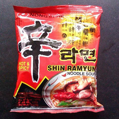 """#040: Nongshim Shin Ramyun """"Hot & Spicy"""""""