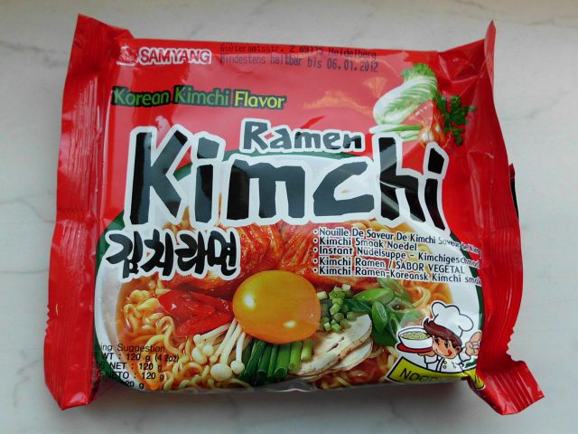 "#036: Samyang Ramen ""Korean Kimchi Flavor"""