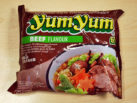 """#042: YumYum Instant Noodles """"Beef Flavour"""""""