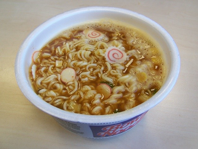 """001: Nongshim Bowl Noodle Soup """"Hot & Spicy"""" - HAPPYSOUPER.de"""