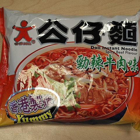 "#046: Doll Instant Noodle ""Spicy Beef Flavour"""