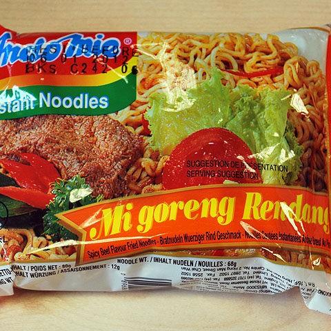 """#047: Indomie Instant Noodles Mi goreng Rendang """"Spicy Beef Flavour"""""""