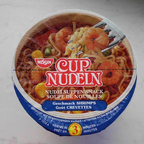 "#048: Nissin Cup Nudeln ""Shrimps"""