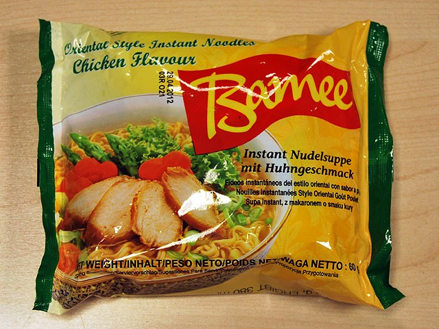"#058: Bamee Instant Noodles ""Chicken Flavour"""
