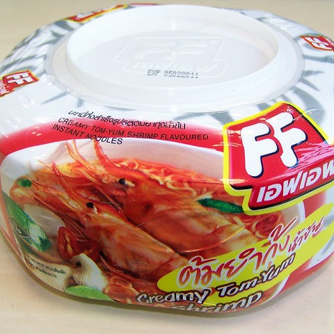 "#057: Fashion Food ""Creamy Tom-Yum Shrimp"""