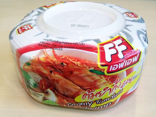 "#057: Fashion Food ""Creamy Tom-Yum Shrimp"""