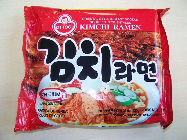 """#059: Ottogi """"Kimchi Ramen"""" Oriental Style"""
