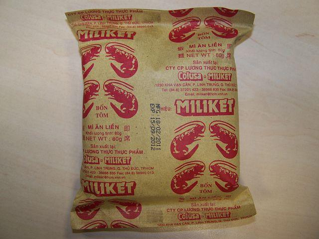 "#064: Miliket ""Bon Tom"" Shrimp-Flavor"