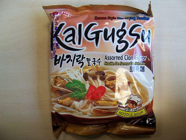 "#065: Samyang Kalgugsu ""Assorted Clam Flavor"""