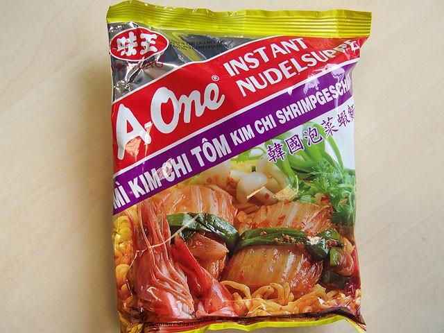 """#082: A-One """"Mì Kim Chi Tôm"""" Kim Chi Shrimp Flavour"""