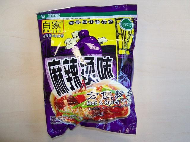"#079: Sichuan Baijia Instant Sweet Potato Noodle ""Hot & Spicy"" Flavour"