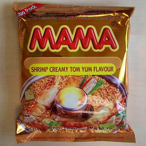 """#075: Mama """"Shrimp Creamy Tom Yum Flavour"""" Jumbo Pack"""
