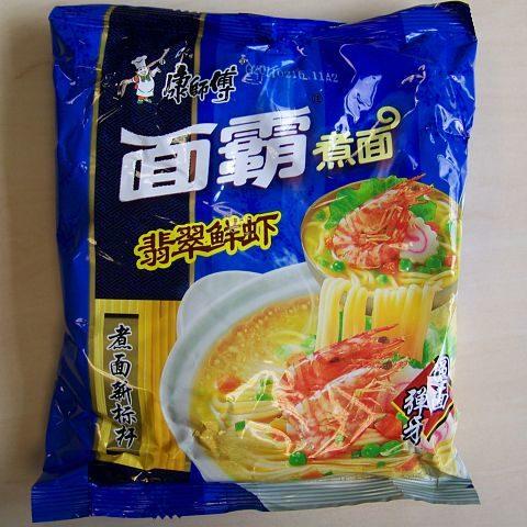 "#072: Master Kong ""Shrimp Flavor"" mit Garnelengeschmack"