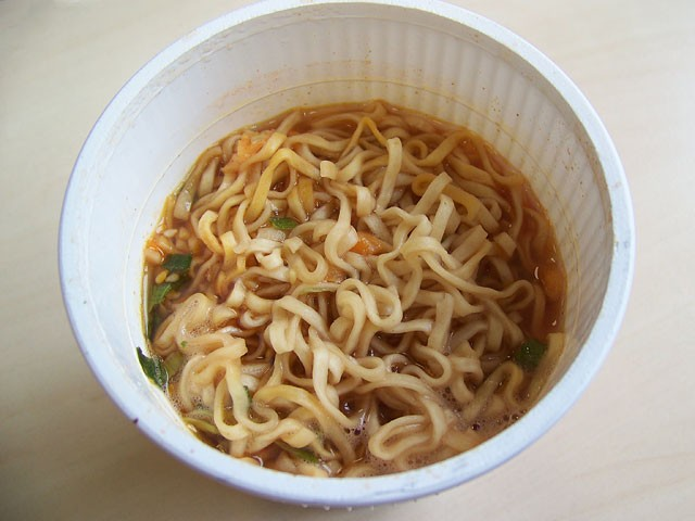 """#080: Nissin Cup Nudeln """"Spicy"""""""