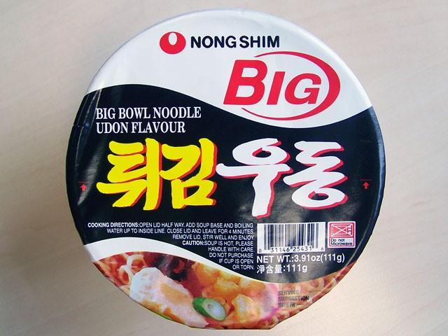 #078: Nongshim Big Bowl Noodle Udon Flavour