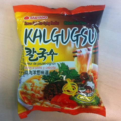 "#077: Samyang Kalgugsu ""Chicken Onion Flavor"""