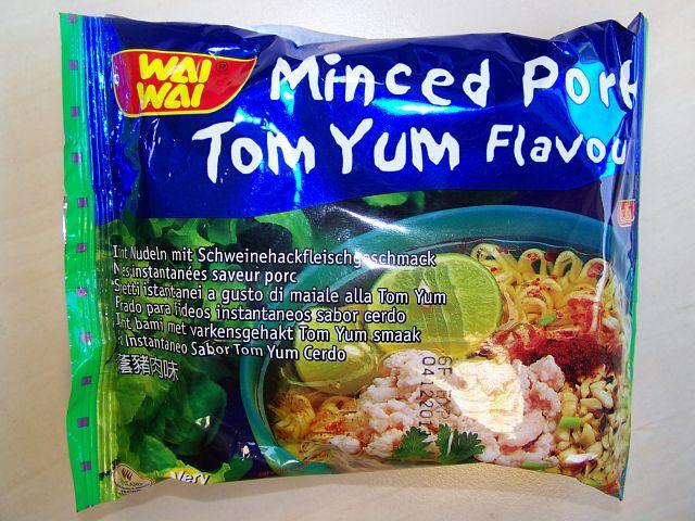 "#071: Wai Wai ""Minced Pork Tom Yum Flavour"""