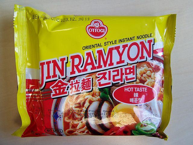 #101: Ottogi Jin Ramyon Hot Taste