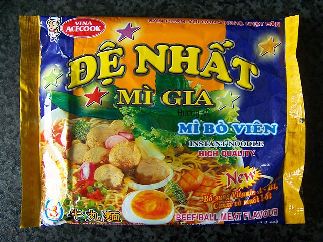 """#089: Vina Acecook Đệ Nhất Mì Gia """"Beef Ball Meat Flavour"""""""