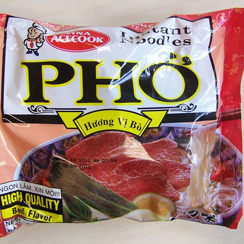 """#093: Vina Acecook """"Phở bò"""" Beef Flavour"""