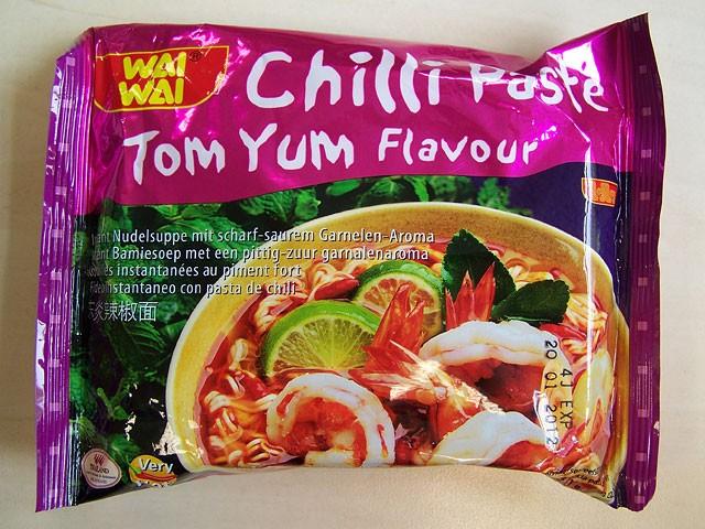 "#095: Wai Wai ""Chilli Paste Tom Yum Flavour"""