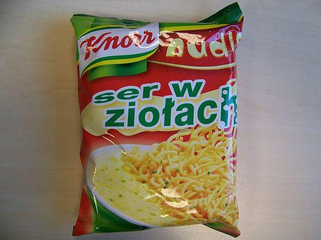 "#105: Knorr Nudle ""ser w ziołach"" (Käse/Kräuter)"