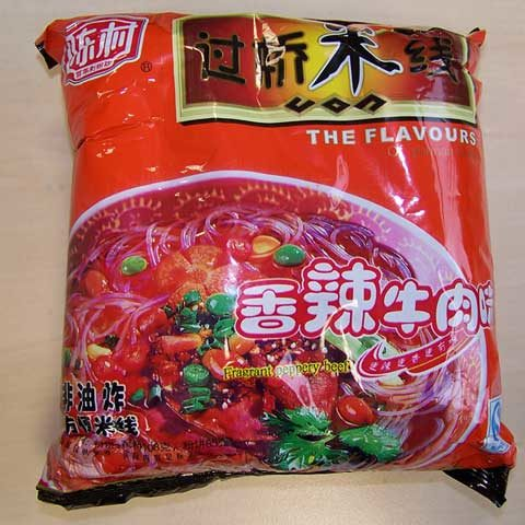 """#116: Chunxiao """"Fragrant Peppery Beef"""" Rice Noodles"""