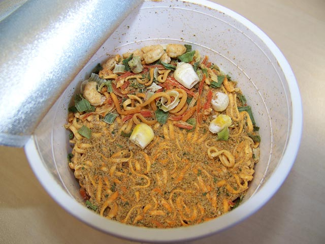 """#115: Nissin """"Thai Style Tom Yum"""" Cup Noodles"""