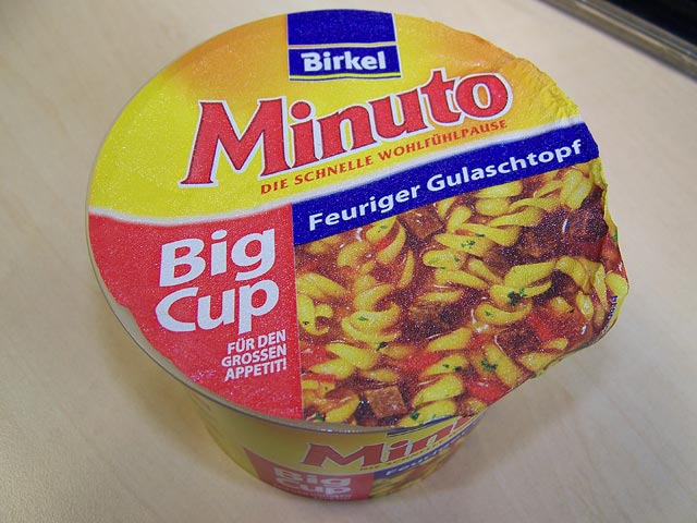 "#108: Birkel Minuto ""Feuriger Gulaschtopf"" Big Cup"