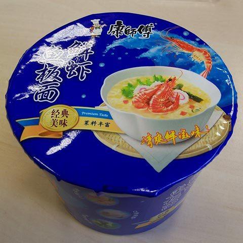 "#109: Master Kong ""Shrimp Flavor / Seafood"" Big Bowl"