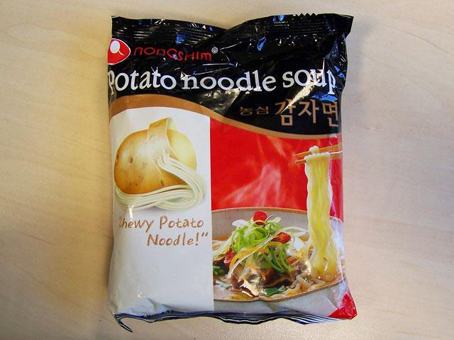 """#117: Nongshim """"Potato Noodle Soup"""""""