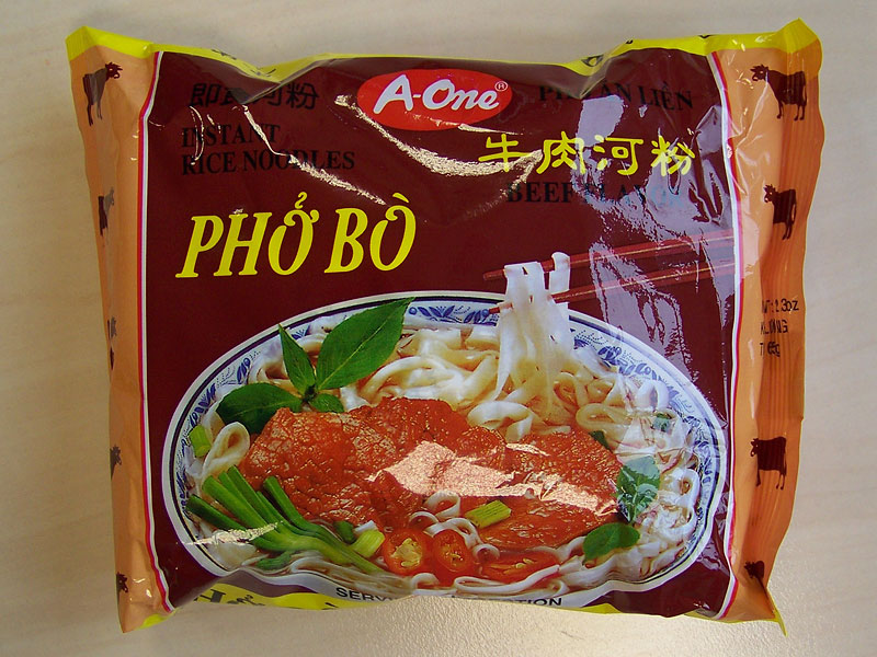 """#136: A-One """"Phở Bò Beef Flavour"""" Instant Rice Noodles (Update 2021)"""