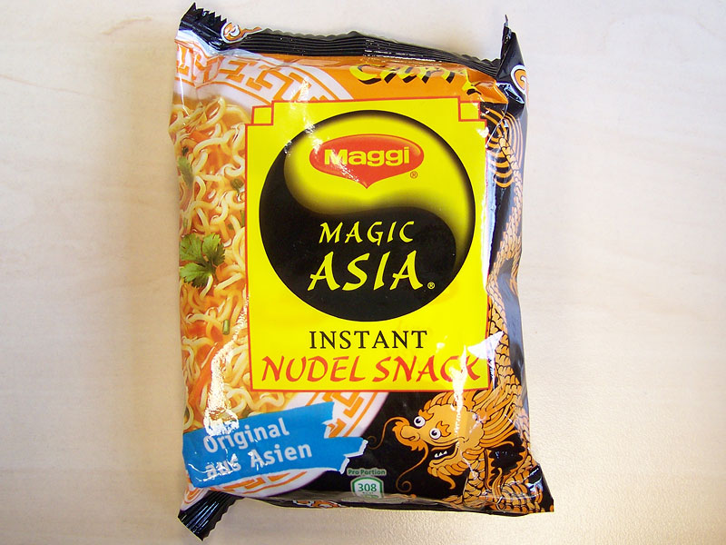 "#135: Maggi Magic Asia ""Instant Nudel Snack Curry"""