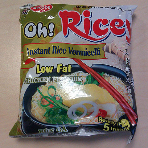 """#133: Vina Acecook – Oh! Ricey Low Fat """"Chicken Flavour"""""""