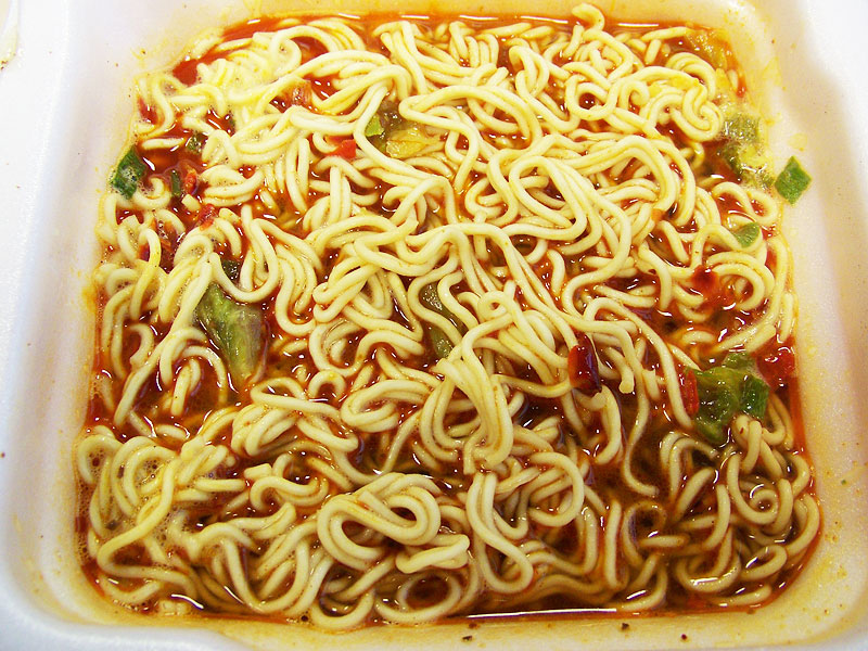 """#140: Master Kong """"Spicy Meat"""" Bowl Noodles"""