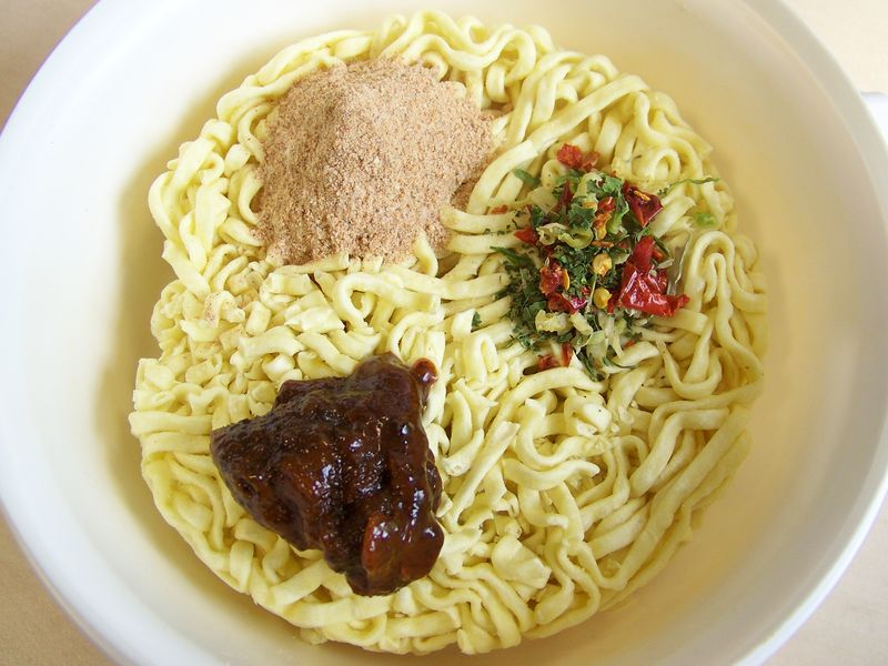 "#149: Master Kong ""Spicy Beef"" Flavor Instant Noodles"