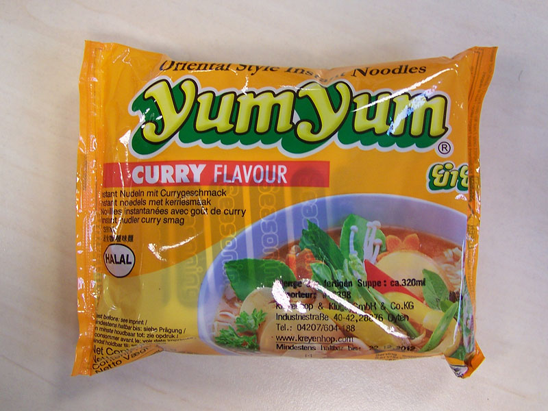 """#156: YumYum """"Curry Flavour"""" Instant Noodles"""