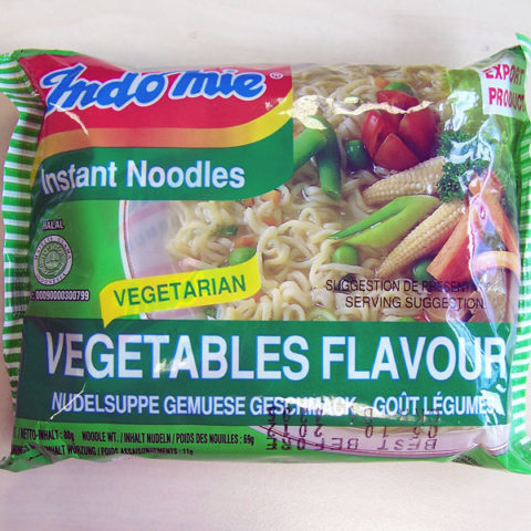 "#161: Indomie ""Vegetables Flavour"" Instant Noodles"
