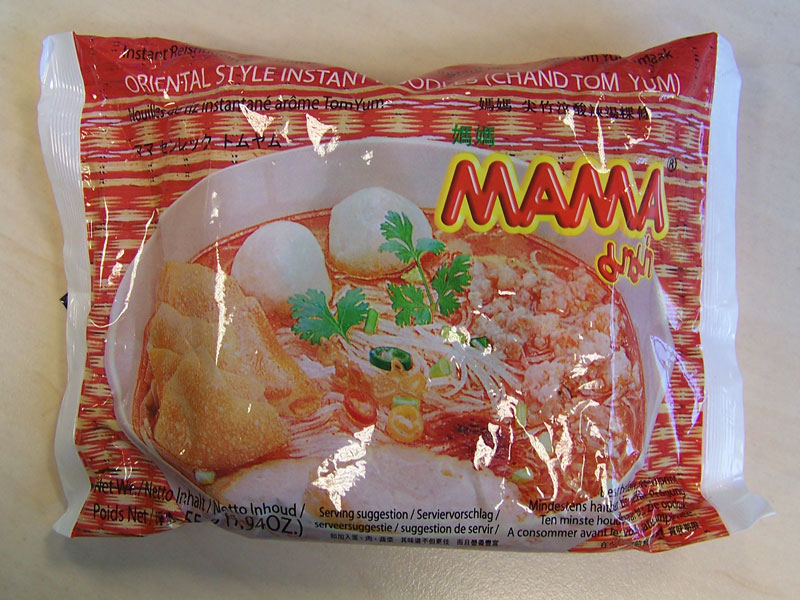 """#166: Mama """"Chand Tom Yum"""" Rice Noodles"""