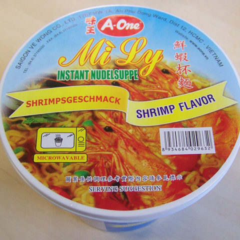 "#172: A-One ""Mi Ly Shrimp Flavor"""