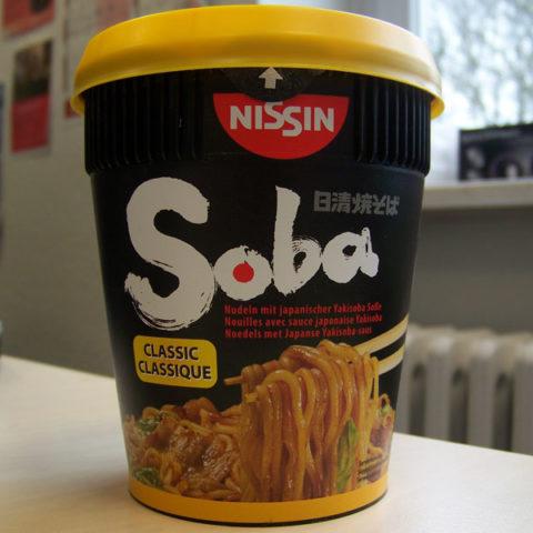 "#183: Nissin ""Soba Classic"" Instant Noodles"