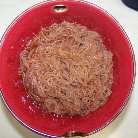 """#184: Nongshim """"Doong Ji"""" Noodles in Chili-Sauce"""