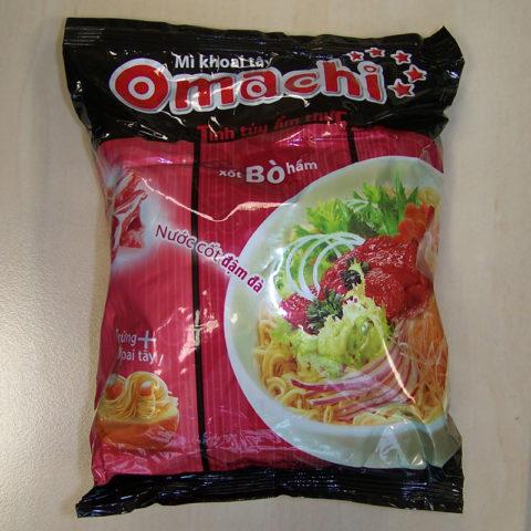 "#192: Omachi ""Xốt Bò Hầm"" (Beef Stew) Instantnoodles (Update 2021)"