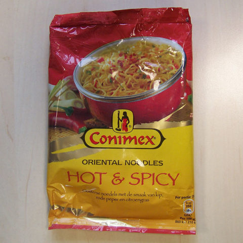 "#205: Conimex ""Hot & Spicy"" Oriental Noodles"
