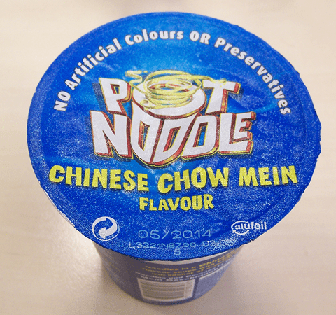 "#210: Pot Noodle ""Chinese Chow Mein"" Flavour"